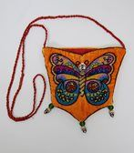 Gorgeous Halloween Beaded Skeleton Butterfly Bags