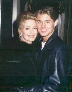 Jensen ackles and Deidre hall from days of our lives.