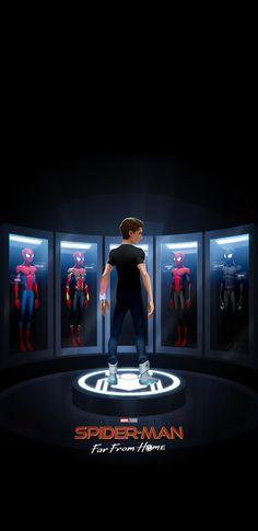 Next Iron Man iPhone Wallpaper - Marvel Universe Black Spiderman, Spiderman Spider, Amazing Spiderman, Marvel Art, Marvel Dc Comics, Marvel Avengers, Batwoman, Nightwing, Personnage Dc Comics