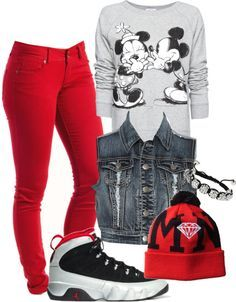 pretty girl swag outfits tumblr jordans - Google Search