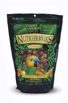 Best selling of Lafeber's Gourmet Tropical Fruit Nutri-Berries for Parrots 3 lb. Bag
