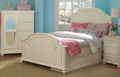 Charlotte Arched Panel Bed (Full)