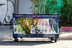 Dumpster #wynwood #miami #streetart #urbanart #graffiti #grindsk8club