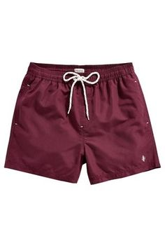 Mens Swim Shorts in Burgandy by Next Mens Swim Shorts, Fleece Shorts, Cute Shorts, Bermuda Short, Toddler Outfits, Girl Outfits, Cool Outfits For Men, Baby Swimsuit, Pool Fashion