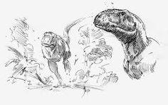 Tarascosaurus sketches by dustdevil on DeviantArt Dinosaur Illustration, Illustration Art, Dinosaur Photo, Dinosaur Drawing, Dinosaur Design, Prehistoric Creatures, Animal Sketches, Angels And Demons, Prehistory