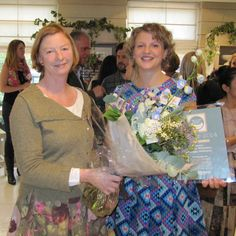 Me with Vaness Arbuthnott at the Country Homes & Interiors awards.