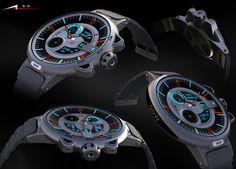 G Shock Watch Concept by Alp Germaner is a personal design from Alp Geemaner as a digital + analog wristwatch.