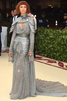 Zendaya   The 2018 Met Gala is here, and that means a high-fashion red carpet. Check out our favorite looks from the religiously themed evening, from Rihanna's to Kim Kardashian's.