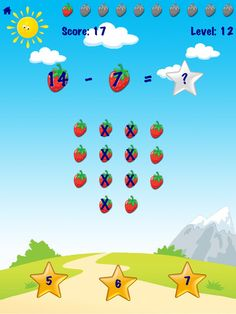 Ace Kids Math Games HD Free Lite - for iPad