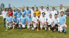 Ethan Hawke, Tony Sanneh, Tim Blake Nelson Play in NYFEST's Celebrity Soccer Game