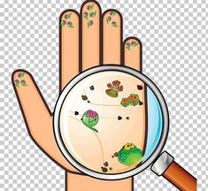 Image with transparent background, Hand Virus Bacteria Germs Cartoon Magnifying Photo without background its from Cartoons and Signs category, PNG file easily with one click Free HD PNG images, png design with high quality. Free Printable Alphabet Worksheets, Worksheets For Kids, Activities For Kids, Hygiene Lessons, Hand Washing Poster, Kids Background, Classroom Jobs, Baby Clip Art, Preschool Education