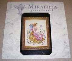 Beautiful Mirabilia Counted Cross Stitch Pattern Butterfly Fairy Nora Corbett | eBay