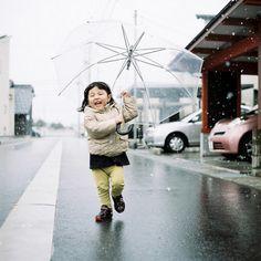 rainy day happiness