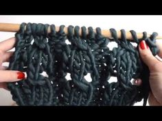 Cómo tejer punto elástico trenzado – The Blog Más