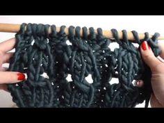 Cómo tejer punto elástico trenzado – The Blog