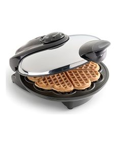 Heart Waffle Maker  To buy: $40 #gifts