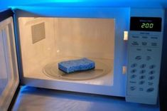 And then when they get funky, just pop your sponge in the microwave for two minutes to disinfect. | 37 Cleaning Basics All Adults Should Know