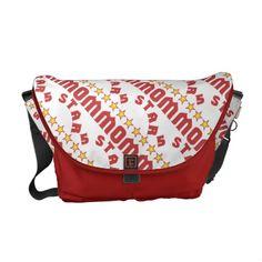 5 Star Mom Tiled Messenger Bags