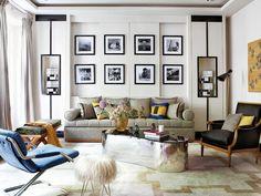 another glamorous Spanish apartment via Nuevo Estilo