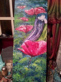 Original painting. Sirena.by Pili Tejedo