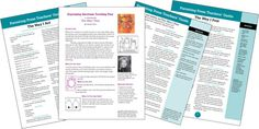 """The teacher guides and presentation plan for books illustrated by Janan Cain, including THE WAY I FEEL, available in English, Spanish and several other languages. It's widely used for character education and in special needs classrooms. More info: """"Teachers"""" on the parentingpress.com top menu."""