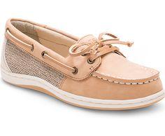 Firefish Boat Shoe, Linen / Oat