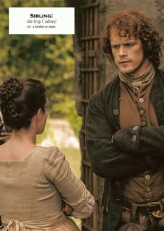 Outlander definitions.- Sibling. (x)