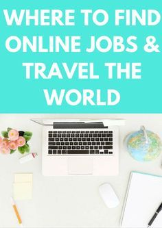 Would you LOVE to be able to travel the world AND earn a living by building a business online at the same time? Well this is an ideal first step for you then! Here are 6 of the best places to find online remote jobs so you can take your work wherever in the world your itchy feet want to take you! | StoryV Travel & Lifestyle