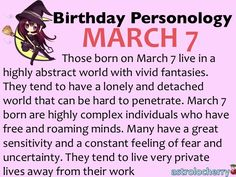 today is my birthday 7 march horoscope free