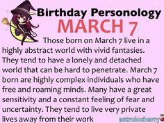 March 7 Zodiac Sign