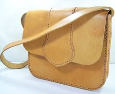 Brown Leather BagWomen Leather BagLeather by RetroVintagePlanet