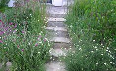 Von der Terrasse in den Garten: So gelingt ein schöner Übergang - Eine Terrasse gehört in jeden Garten. Wir zeigen Ihnen, wie Sie den Übergang zwischen beiden Bereichen harmonisch gestalten.