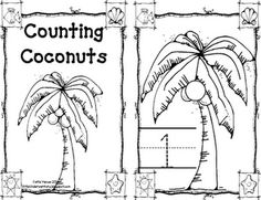 Counting Coconuts printables. I wish I had this a couple of months ago, to go with my Chicka Chicka Boom Boom felt board activity!