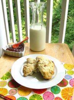 Secret Garden Recipe: Buttermilk Cranberry Scones > Willow Bird Baking