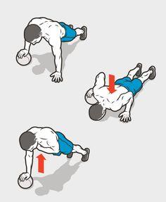 1B. Pushup Lockoff http://www.menshealth.com/fitness/v-shape-shredder/slide/4