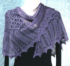 free knit shawl patterns | Free Shawl Knitting Patterns, Free Wrap Knitting…