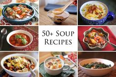Soup and Stew Recipes. about every soup or stew you can think of. (Barefeet in the Kitchen) Bowl Of Soup, Soup And Salad, Chili Recipes, Soup Recipes, Recipies, Yummy Recipes, Kitchen Recipes, Cooking Recipes, Barefeet In The Kitchen