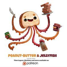 Peanut Butter & Jellyfish - Piper Thibodeau