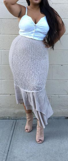 Curvy Summer Fashion for Women - #curvy #plus #size #outfits #fashion