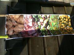 Leuk om terug te zien, collage voor de omslag van eerste versie Romeins kookboek. #romeinskoken