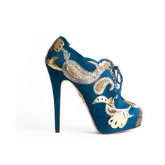 Charlotte Olympia - Orient Express - Sale ($1,505) ❤ liked on Polyvore
