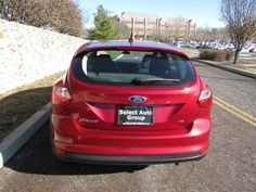 Select Auto Group Used Cars / Trucks / Dealers 2013 Ford Focus SE. Ruby Red Metallic over Charcoal interior. Automatic. 2WD. Gasoline. Approximately 47k Miles. 4 Cylinders. Clean Car. Auto Dealership. Family Dealership. Clean Carfax. Carfax. Visit our website for more information