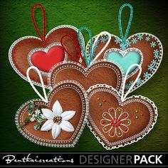 This pack contains 3 strings, 5 decorative Xsmas Hearts (without string) and 4 decorative Xsmas Hearts (with string)all designed and saved at 300 dpi high resolution PNG transparent format.These elements are CU/PU/S4H ok. Freebies are allowed ONLY if the final product is modified, resized or mixed with. For Professional Use contact me via my TOU included in the pack!!#Digital #Scrapbook #Creative #Craft #Web #Collage #Scrapbooking