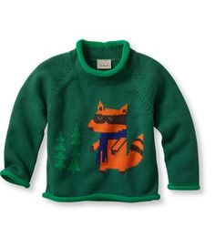Infants' and Toddlers' Double L and reg; Rollneck Sweater: Sweaters | Free Shipping at L.L.Bean