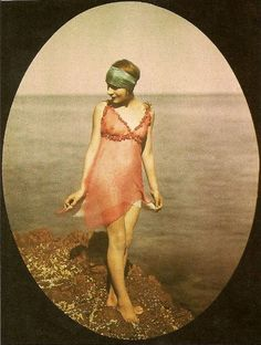 An early color photography by the Lumière brothers (Auguste and Louis Lumière