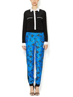 Fragmented Bandana Print Pant by ICB on sale now on Gilt.