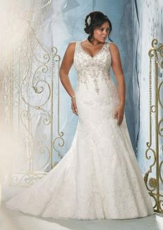 vestido de novia busto grande - Buscar con Google