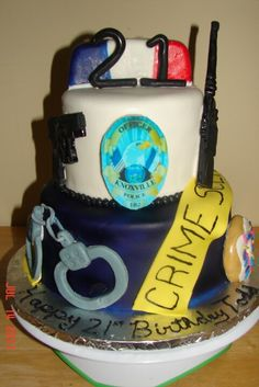 Police birthday cake