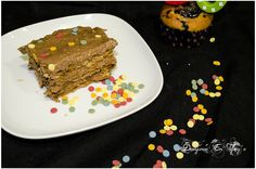 tarta de galletas con buttercream de nocilla