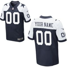 Customized Men s Nike Dallas Cowboys Elite Throwback Jersey List Of Nfl  Teams d958a70e9